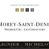 2009 Lignier Michelot Morey 1er Chenevery