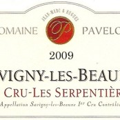 2009 Pavelot Savigny les Beaune 1er Serpentieres