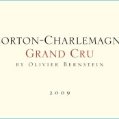 2009 Olivier Bernstein Corton Charlemagne