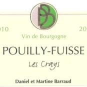 2011 Barraud Pouilly Fuisse les Crays