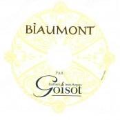 2009 Goisot Cotes D'Auxerre Biaumont