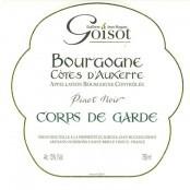 2009 Goisot Cotes D'Auxerre rouge Corps de Garde