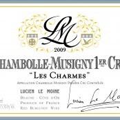 2009 Lucien LeMoine Chambolle Musigny Charmes 1er