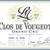 2009 Lucien LeMoine Clos Vougeot Grand cru
