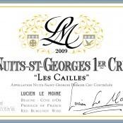 2009 Lucien LeMoine Nuits St Georges Cailles 1er
