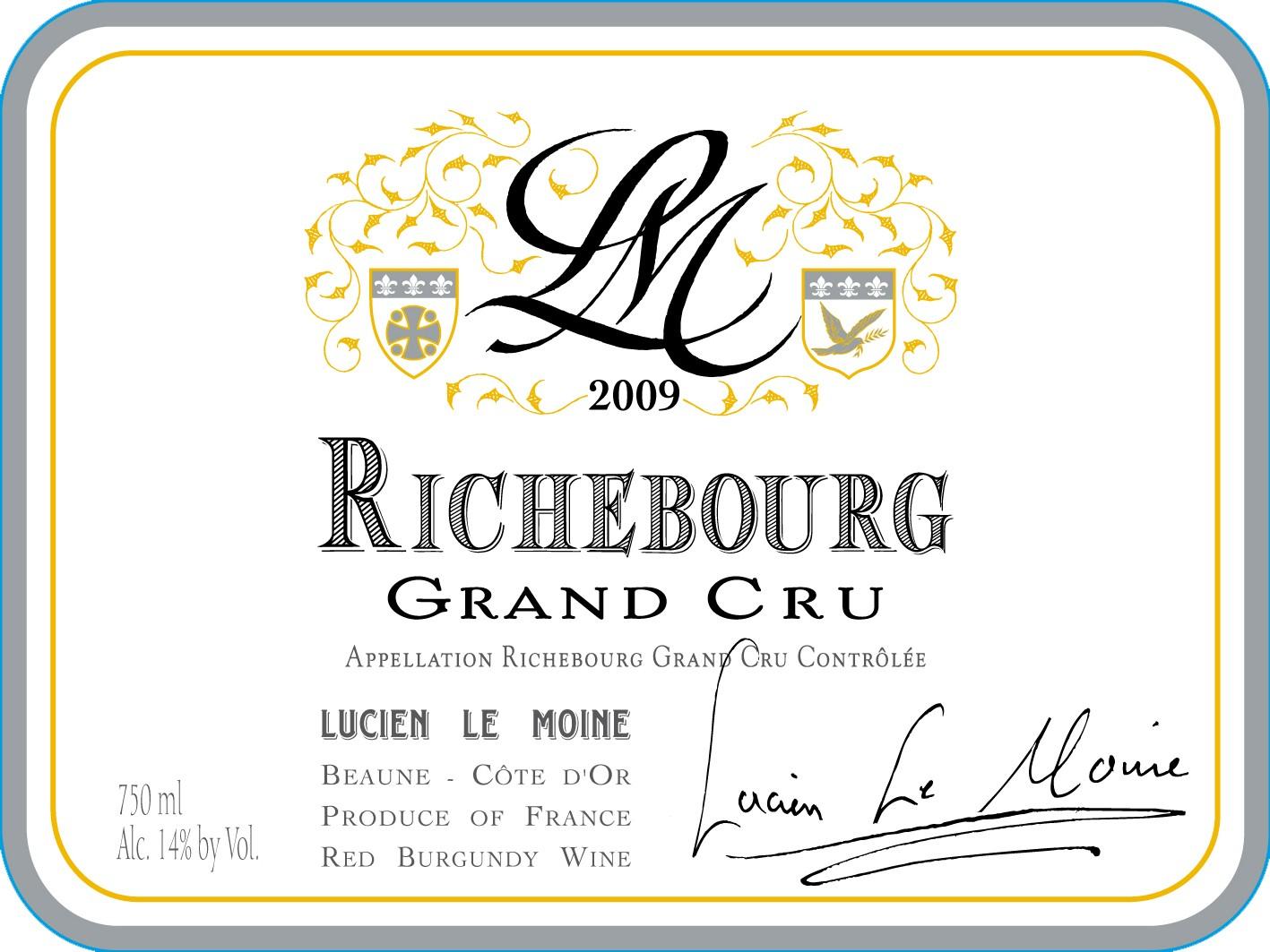 2009 Lucien LeMoine Richebourg MAGNUM