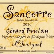 2016 Gerard Boulay Sancerre Rosé