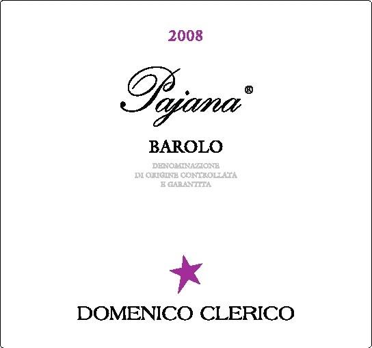 2008 Domenico Clerico Barolo Pajana