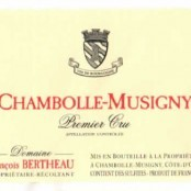 2014 Francois Bertheau Chambolle Musigny 1er cru