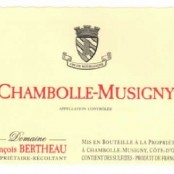 2013 Francois Bertheau Chambolle Musigny villages