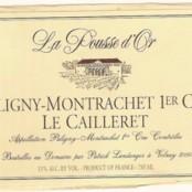 2014 Pousse d'Or Puligny Montrachet 1er Cailleret