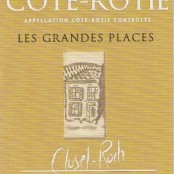 2012 Clusel Roch Cote Rotie les Grandes Places