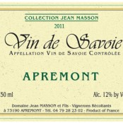 2011 Jean Masson Apremont Collection