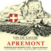 2011 Jean Masson Apremont Cuvee Lisa