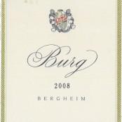 2008 Marcel Deiss Burg Premier cru