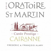 2010 Oratoire St Martin Cairanne Cuvee Prestige