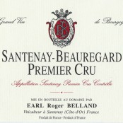 2013 Roger Belland Santenay 1er Beauregard rouge