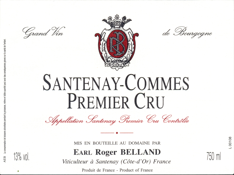 2010 Roger Belland Santenay 1er la Comme