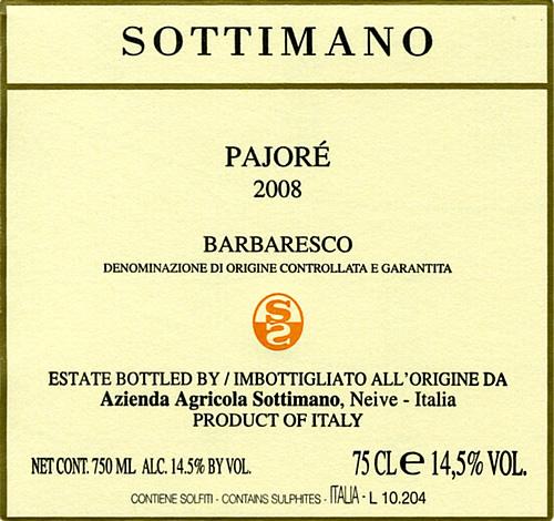 2014 Sottimano Barbaresco Pajore MAGNUM