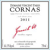 2011 Vincent Paris Cornas Granit 60 VV