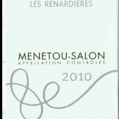 2010 Philippe Gilbert Menetou Salon Renardieres rouge