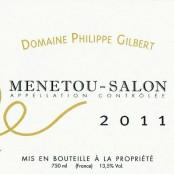 2011 Philippe Gilbert Menetou Salon blanc