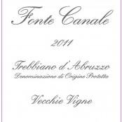 2011 Agricola Tiberio Trebbiano d'Abruzzo Fonte Canale
