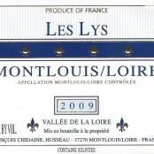 2009 Francois Chidaine Montlouis les Lys