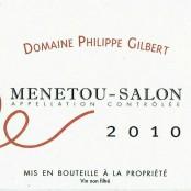 2010 Philippe Gilbert Menetou Salon rouge