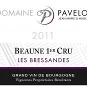 2011 Pavelot Beaune 1er Bressandes