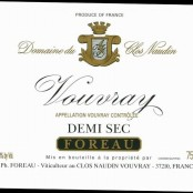 2011 Philippe Foreau Vouvray Demi sec Clos Naudin