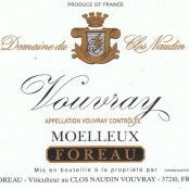 2011 Philippe Foreau Vouvray Moelleux Clos Naudin