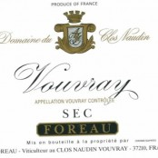 2011 Philippe Foreau Vouvray sec