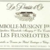 2011 Pousse d'Or Chambolle Musigny 1er Feusselottes