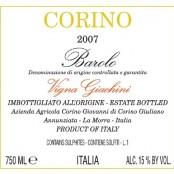 2009 Giovanni Corino Barolo Giachini