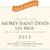 2012 David Duband Morey St Denis 1er BROC