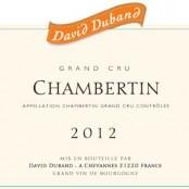 2012 David Duband le Chambertin Grand cru