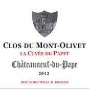 2012 Clos du Mont Olivet Chateauneuf du Pape Cuvee du Papet