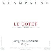 Jacques Lassaigne Le Cotet Blanc de blancs