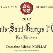 2012 Michel Noellat Nuits St Georges 1er cru Boudots