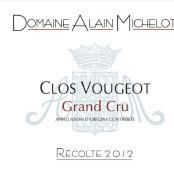 2012 Alain Michelot Clos Vougeot Grand cru