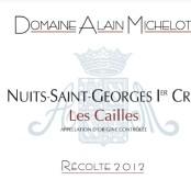 2012 Alain Michelot Nuits St Georges 1er cru les Cailles