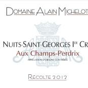 2012 Alain Michelot Nuits St Georges 1er cru Champs Perdrix