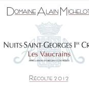 2012 Alain Michelot Nuits St Georges 1er cru Vaucrains