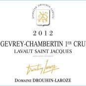 2012 Drouhin Laroze Gevrey Chambertin 1er Lavaux St Jacques
