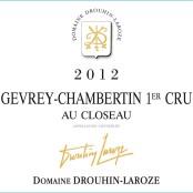 2012 Drouhin Laroze Gevrey Chambertin 1er Au Closeau
