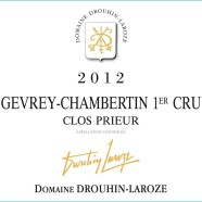 2012 Drouhin Laroze Gevrey Chambertin 1er Clos Prieur