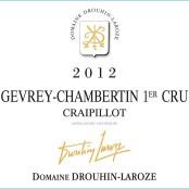 2012 Drouhin Laroze Gevrey Chambertin 1er Craipillot
