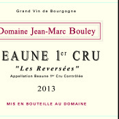 2013 Thomas et Jean Marc Bouley Beaune 1er Reversees