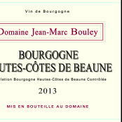 2013 Thomas et Jean Marc Bouley Hautes Cotes de Beaune